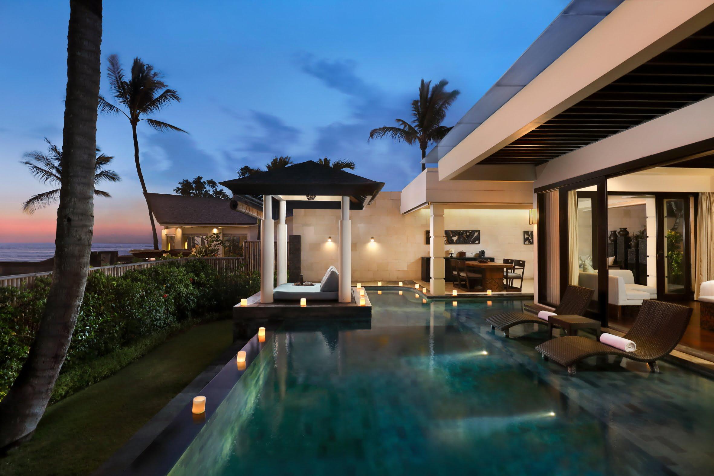 6 One Bedroom Ocean Pool Villa Private Pool The Seminyak Beach Resort Spa