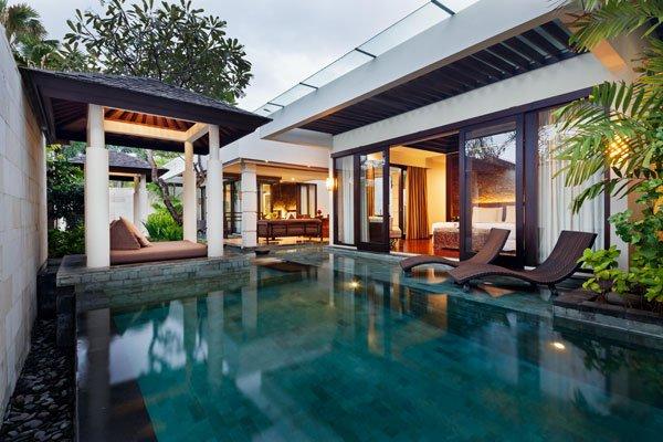 One Bedroom Ocean Villa Seminyak Bali Private Pool Villa Resorts